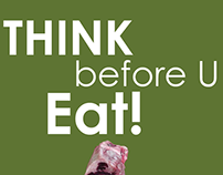 Think before U eat Poster 2 of 2