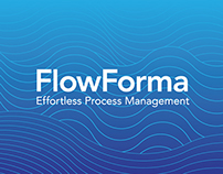 FlowForma visual identity and website
