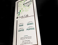 Menu Design: Curt's Café