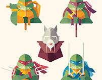 Teenage Mutant Ninja Turtles //  Fan Art