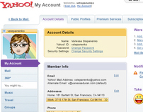 Yahoo! My Account