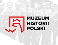 Polish History Museum logotype redesign