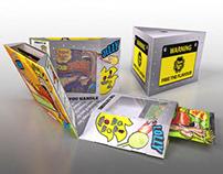 Chupa Chups Presentation case - 3D visual