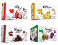 CHOBANI - packaging illustration