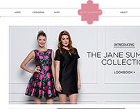 Jane Summers: Website Design & Social Media