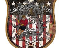 Lacrosse U.S.A. Main Hangtag Design