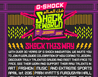 Shock the world
