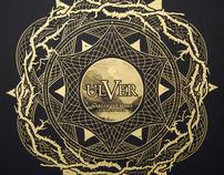 ULVER European Tour  2011 - Silkscreen Poster