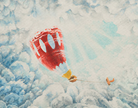 Hot Air Balloon - Children's Book