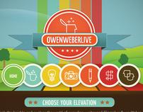 Owen Weber Live Website (The Concept)