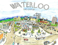 Waterloo, the city of