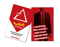 Rappinismyhabit - Business Cards