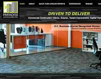 Paradise Construction Website
