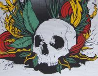 EARTH Live in Torino - Silkscreen Poster 2011
