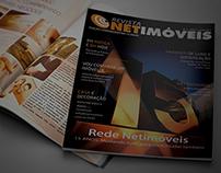 Projeto gráfico revista Rede Netimóveis