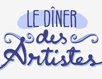 Le Diner :: Flyer y Logo