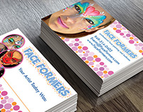 Face Formers Business Cards