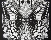 INRI Records - Silkscreen Poster Number Zero 2011