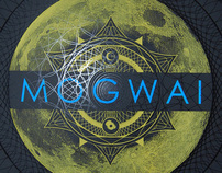 MOGWAI Live at Spaziale Festival 2011 Silkscreen Poster