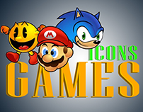 Games Icons designs