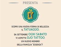 Ojo Tattoo flyer