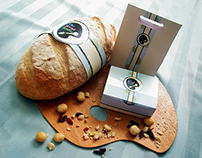 Package Design & Photography for 'The Bread Studio'