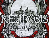 NEUROSIS Live at Spaziale Festival 2011 - Poster