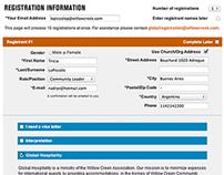 e-Commerce Event Registration