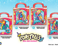 """Pony Tales"" Package Designs"