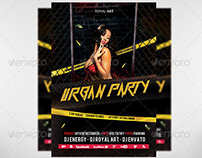 Flyer Urban Party