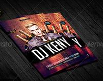 Flyer Dj Night Party