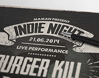 Indie Typography Flyer/Poster vol. 3