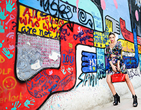 Rio Heels - Fashion by Koovs and Street Art in India