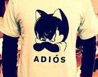 "Tshirt ""Adios"""