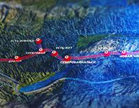 Interactive 3D map