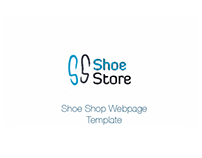 Shoe Shop Webpage Template