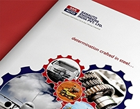 Brochure Design - Sanauto Engineers India PVT.Ltd.