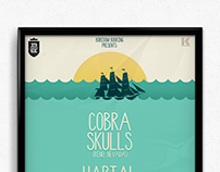Cobra Skulls, Hartal, W Kilku Słowach @ Krakow