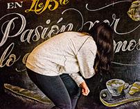Le Blé – Blackboard Lettering