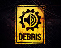 Debris - Music community visual identity
