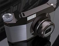 Concept per fotocamera digitale
