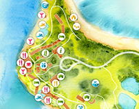 Fijian Resort Interactive Map