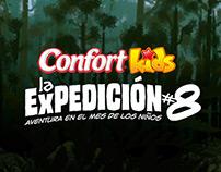 Expedición #8, aventura en el mes de los niños
