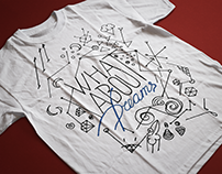 Inner thoughts - T-shirt print