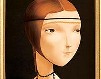 Canvas series - La dama con l'ermellino