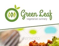 GREEN LEAF Restaurant Menu + Poster