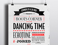 Flyer/Affiche Dancing Time