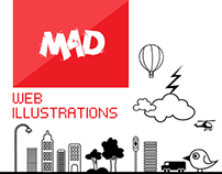 MAD - Web Illustrations