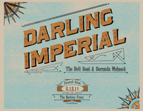 Darling Imperial Gig Poster