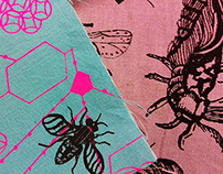 MOTH & FLY printed textiles